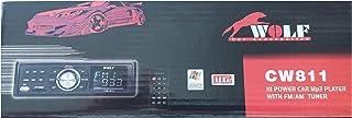 مشغل صوت السيارة مع راديو اف ام USB ام ام سي وولف