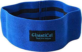 Hip Resistance Band Slingshot Band Sliding Down Prevent Idea for Hip and Glute Activation Strength in Weightlifting and Crossfit Training Blue New Size Scale Blue