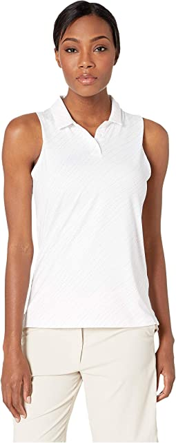 Dry Polo Sleeveless Spring Print