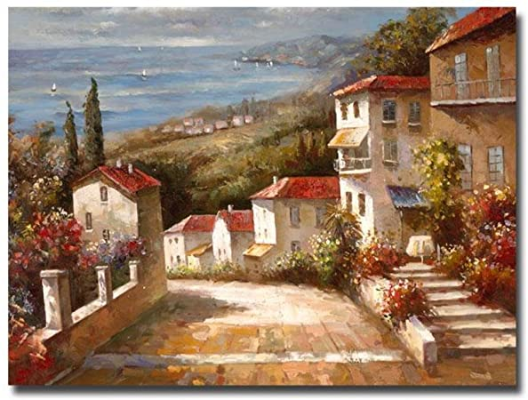 Amazon Com Trademark Art Home In Tuscany Canvas Art By Joval Prints Posters Prints