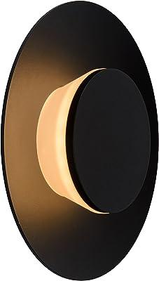 Lucide NINJO - Applique Murale Extérieur - Ø 23 cm - LED - 1x5W 2700K - IP54 - Noir