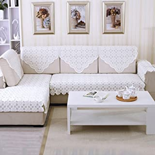 yazi Sectional Sofa Slipcovers Back Couch Covers Furniture Protector 29inch by 35 1/2 inch, Set of 4