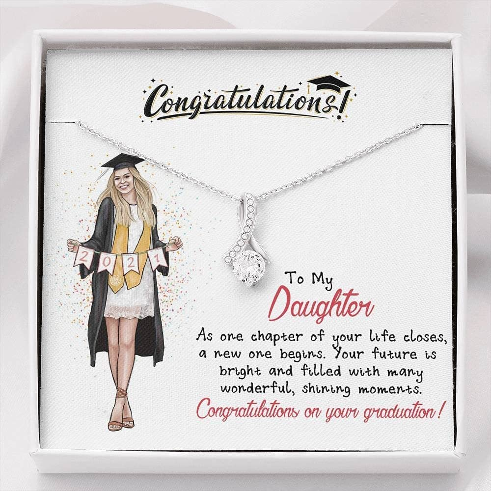 Graduation Gift Necklace To daughter my 67% OFF of fixed price Award-winning store