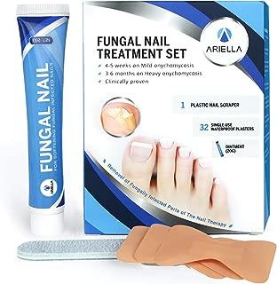 Toenail Fungus treatment, Toenail Fungus Stop Nail Repair set, Nail Repair Cream, Repairs and Protects from Discoloration, Nail Fungus Stop, Fungi Nail Fungus Remover set for Fingernail Fungus (20g)