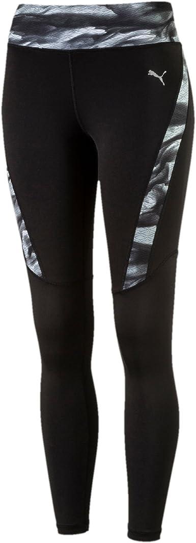 PUMA 515604 01 Legging de sport Femme Puma Black/Aop : Amazon.fr ...