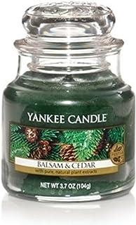 Yankee Candle バルサム&シダー スモールジャーキャンドル フェスティバルの香り