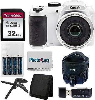 Kodak PIXPRO AZ252 Astro Zoom 16MP Digital Camera (White)...