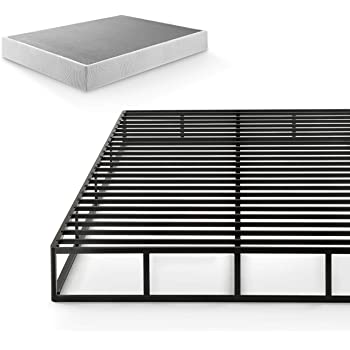 Zinus Victor 9 Inch Quick Lock Box Spring / Mattress Foundation / Built-to-Last Metal Structure / High Profile / Easy Assembly, King