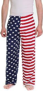 Fun Boxers メンズ アメリカ国旗 パジャマパンツ