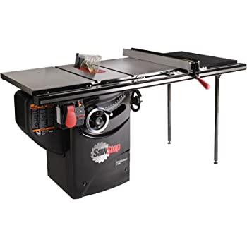 SAWSTOP 10-Inch Professional Cabinet Saw, 1.75-HP, 36-Inch Professional TGlide Fence System (PCS175-TGP236)