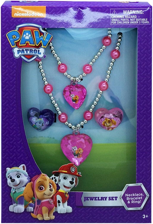 ¡envío gratis! Nickelodeon Nickelodean Paw Patrol Jewelry Jewelry Jewelry Set by  perfecto