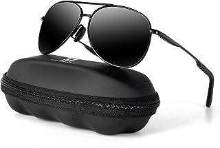 Aviator Sunglasses for Men Polarized Women-MXNX UV Protection Lightweight Driving Fishing Sports...