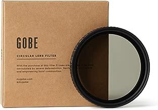 Gobe 43mm ND2-32  1-5 Stop  Variable Lens Filter  3Peak