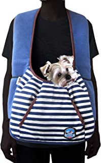Alfie Pet - Amos Pet Front Sling Carrier - Color: Navy