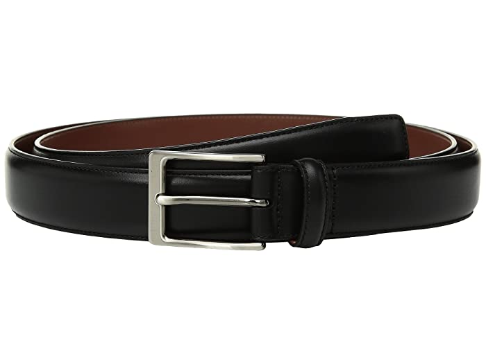 Perry Ellis Portfolio  Big Tall Amigo Dress Belt (Black) Mens Belts