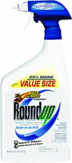 Roundup 5003410 Weed and Grass Killer III Ready-to-Use Trigger Spray, 30-Ounce