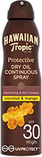 Hawaiian Tropic Protective Continuous Spray Oil SPF 30 180