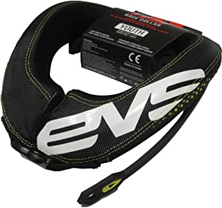 EVS RC3 Youth Race Collar MX/Off-Road/Dirt Bike Motorcycle Body Armor - Black/One Size