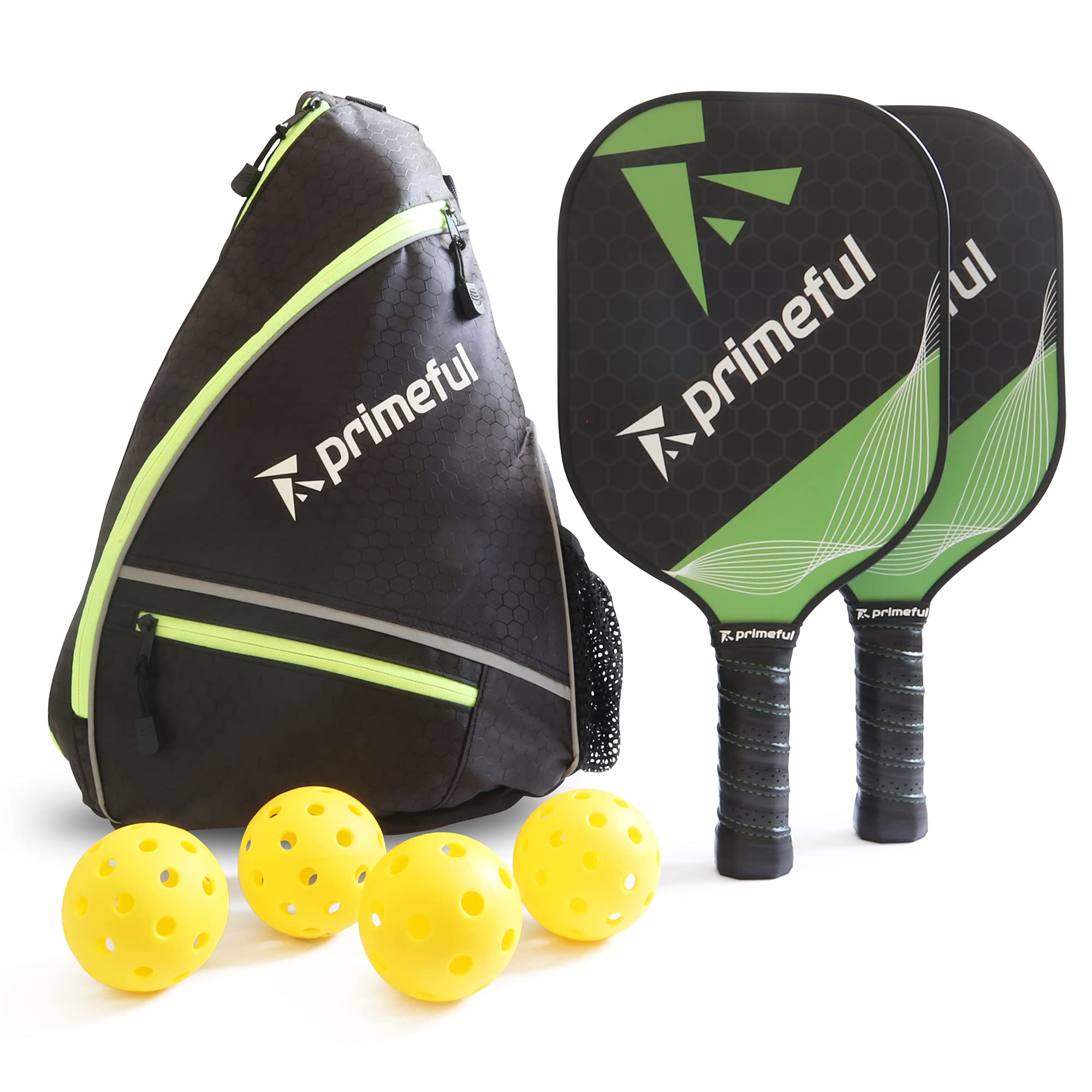 Primeful Pickleball Paddles Set of 2 - Pickleball Paddle Set