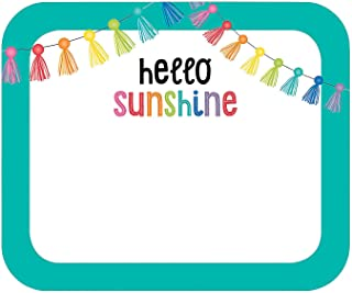 Fun Express - Sgs Hello Sunshine Name Tags - Stationery - Stickers - Name Tags - 40 Pieces