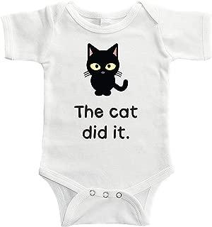 The Cat Did It Bodysuit