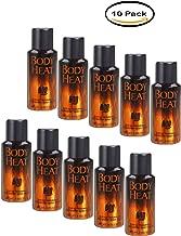 PACK OF 10 - BOD Man Body Heat Sexy Fragrance Deodorant Body Spray, 4 oz