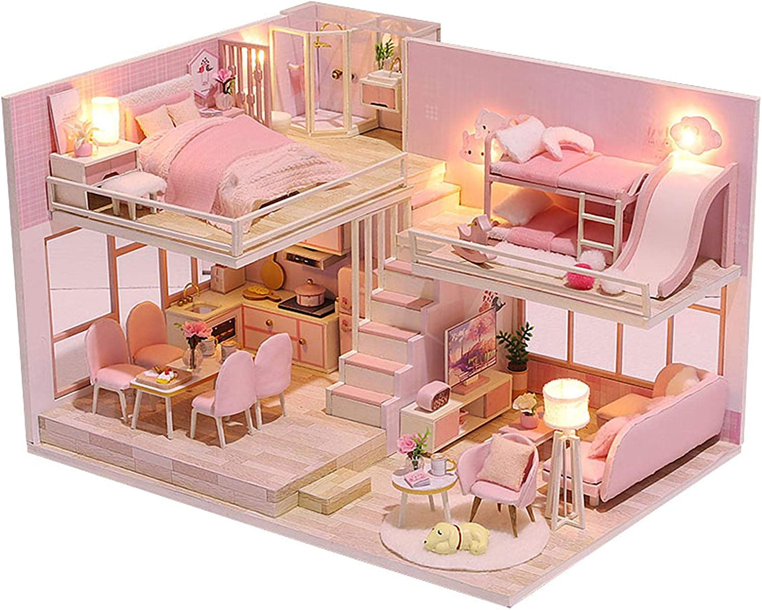 Tiny House Building Kit Sweet Pink Ranking TOP14 Personalis It is very popular Apartment Romantic