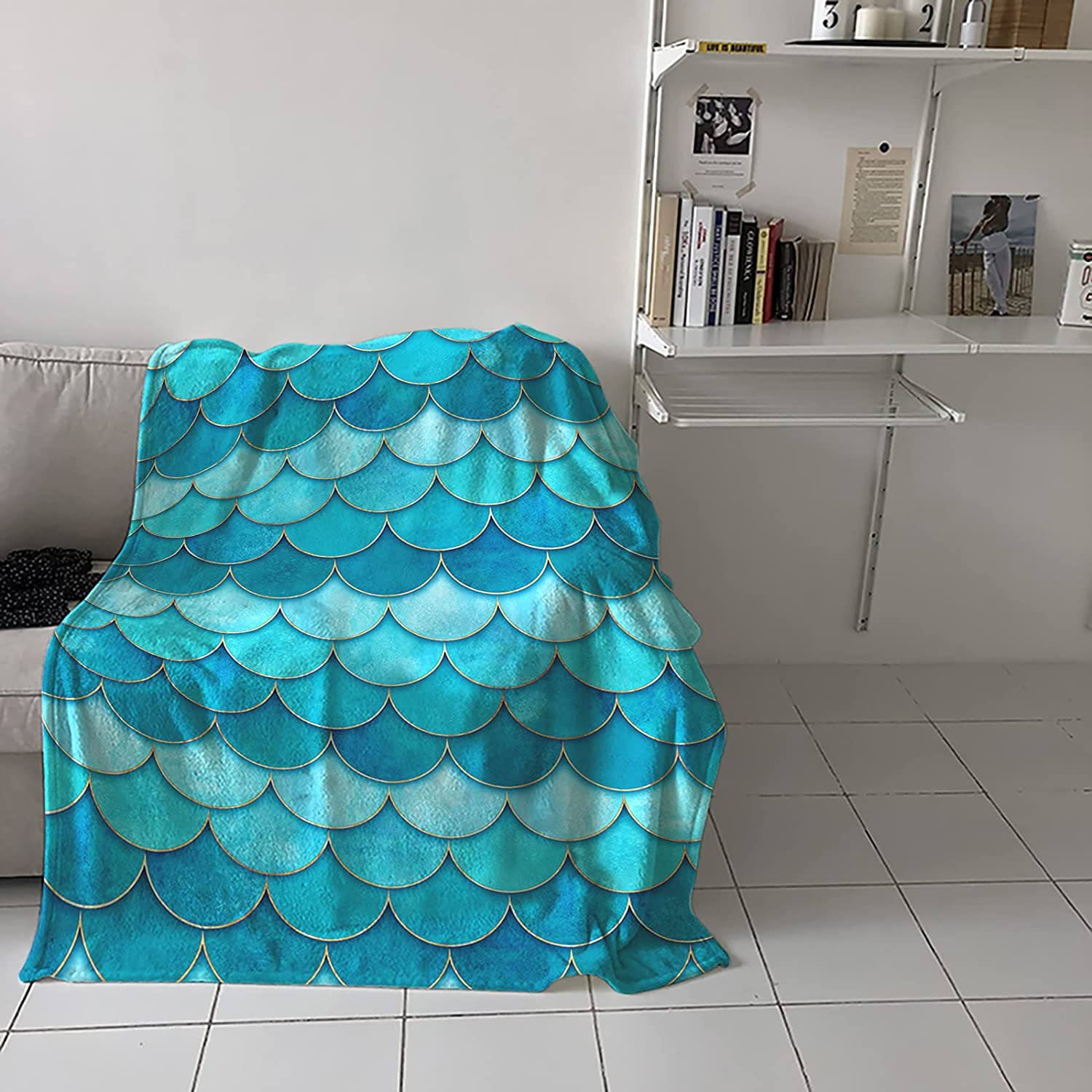 Flannel Fleece Throw Blanket for Ranking TOP19 Couch Bed or Ocean Very popular! Summer Sofa