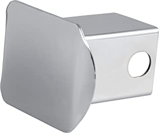 CURT 22111 Chrome Steel Trailer Hitch Cover, Fits 2-Inch Receiver