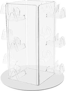 Marketing Holders Rotating Eyewear Counter Display Stand Spinning Sunglass or Eyeglasses Rack Holds 12 Pair Spin Around