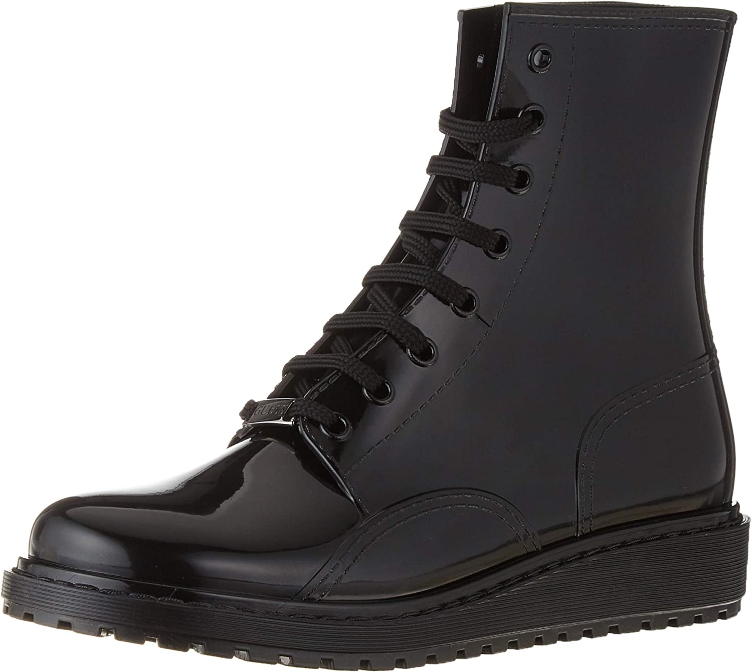 GUESS Fldty3Rub10 Womens Black Rubber Boots