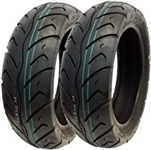 MMG Tire Set: Front Tire 120/70-12 Rear Tire 130/70-12 Street Tread Scooters and Motorcycles