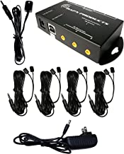 BAFX Products (Infrared) IR Remote Control Extender or IR Repeater Kit - Control 1 to 8 Devices (Expandable to 12!)