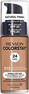 Revlon ColorStay Liquid Foundation For Normal/dry Skin, SPF 20, Butterscotch, 1 Fl Oz