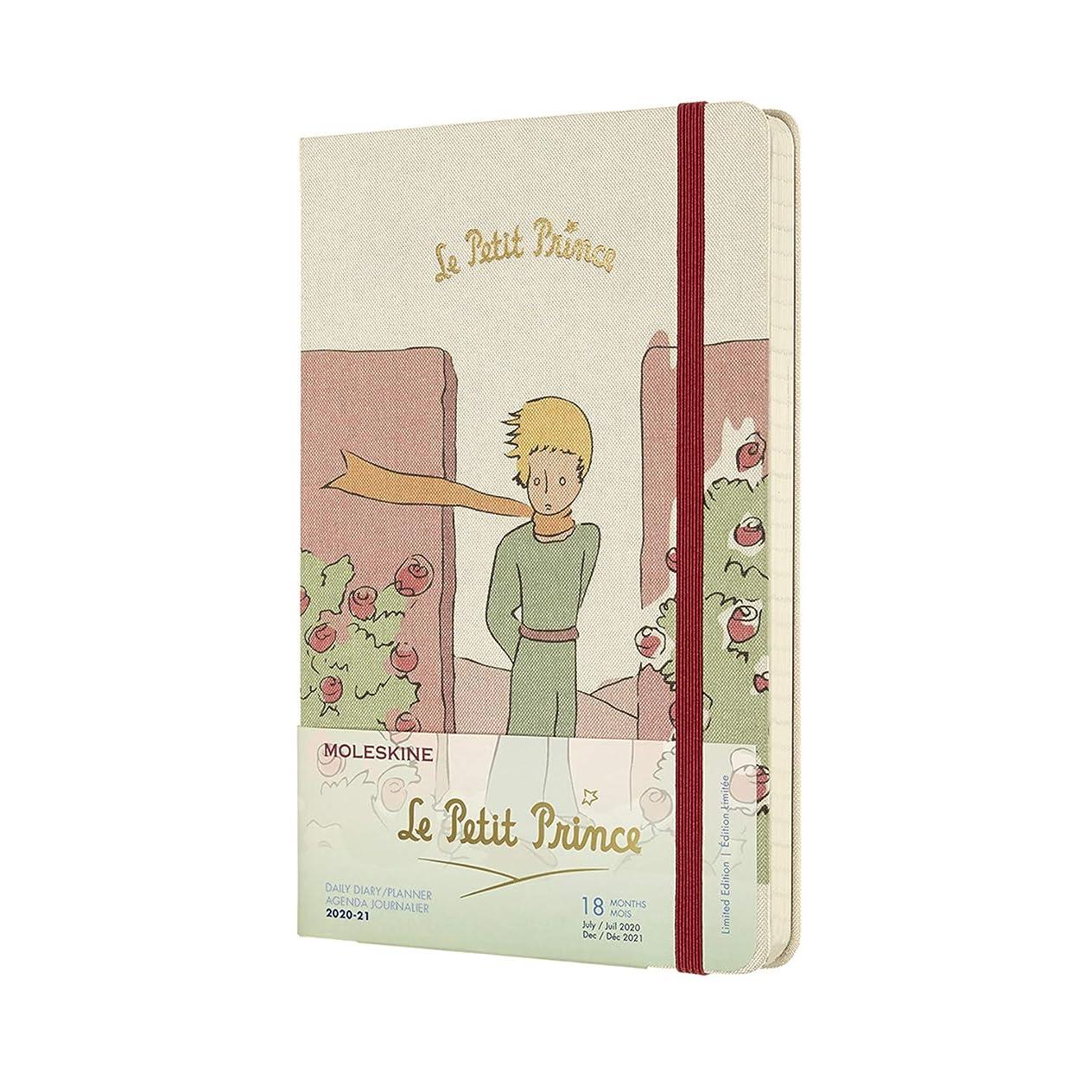 立派なバタフライ明らかにするMoleskine 2020-21 Petit Prince Daily Planner, 18M, Large, Roses, Hard Cover (5 x 8.25)