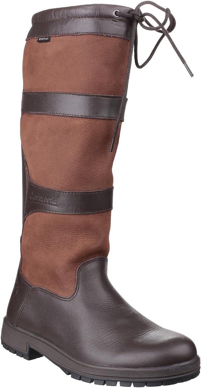 Cotswold Cotswold Beaumont Damen braun wasserdicht ziehen am Wellington Stiefel  der klassische Stil