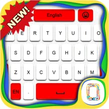 Red and White Keyboard theme