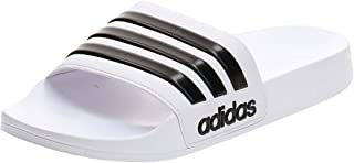 adidas Adilette Cloudfoam Slides, Men's Slippers, White (Ftwr White/Core Black/Ftwr White), 11 UK (46 EU)
