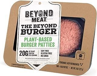 Beyond Meat Burger, World's First Plant-Based Burger, Vegan, No GMOs, Soy or Gluten , 8 Fl Oz   Pack of 8