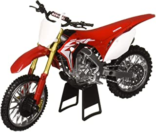 New-Ray NewRay 1: 12 Motorcycles - Honda CRF450R (Red) Diecast Vehicles