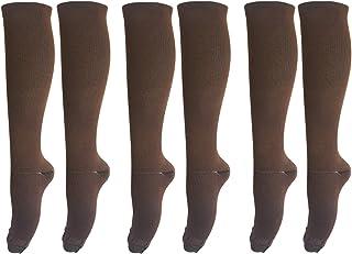 AdisirSox Graduated Compression Socks (3 Pair) 15-20 mmHg for Men Women Medical Sports