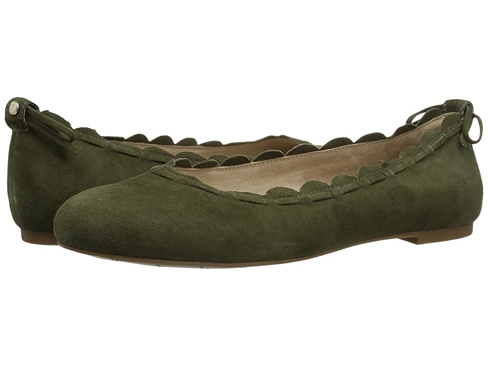 Jack Rogers Lucie (Olive Suede) Women