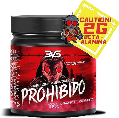 Pré-Treino Prohibido 3VS Strawberry Margarita 180g