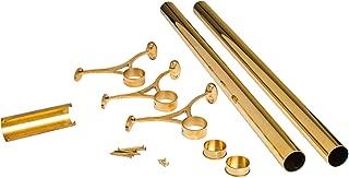 brass gallery rail hardware