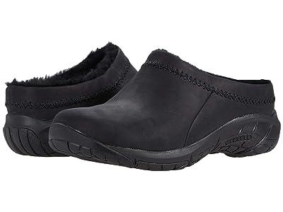 Merrell Encore Ice 4 (Smooth Black Leather) Women