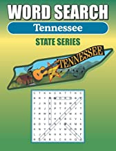 Word Search Tennessee: Word Find Book For Adults