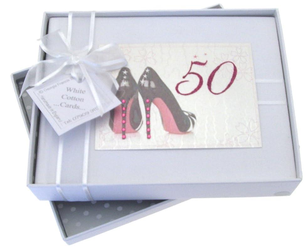 50th Birthday, Small Photo Album, Black Shoes