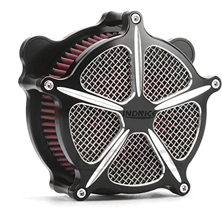 Motor Deep Cut Air Cleaner harley street glide air Intake Filter For Harley Touring Models 2008-2016