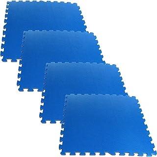 Foam Mat Floor Tiles, Interlocking Ultimate Comfort EVA Foam Padding by Stalwart – Soft Flooring for Exercising, Yoga, Cam...