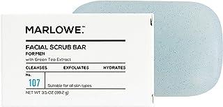 Sponsored Ad - MARLOWE. No. 107 Men's Facial Scrub Soap 3.5 oz   Best Face Exfoliating Bar for Men   Made with Jojoba, She...